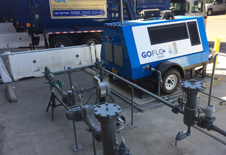 The GoFlo CNG compressor