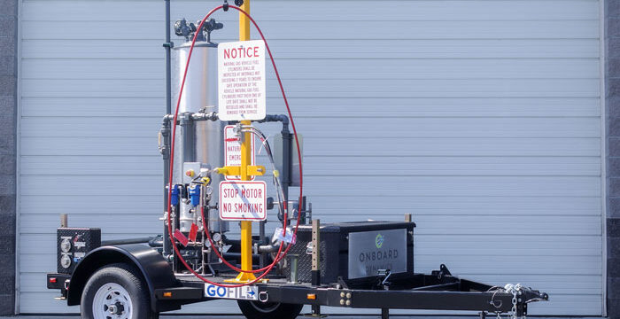 GoFill natural gas refueler by Onboard Dynamics